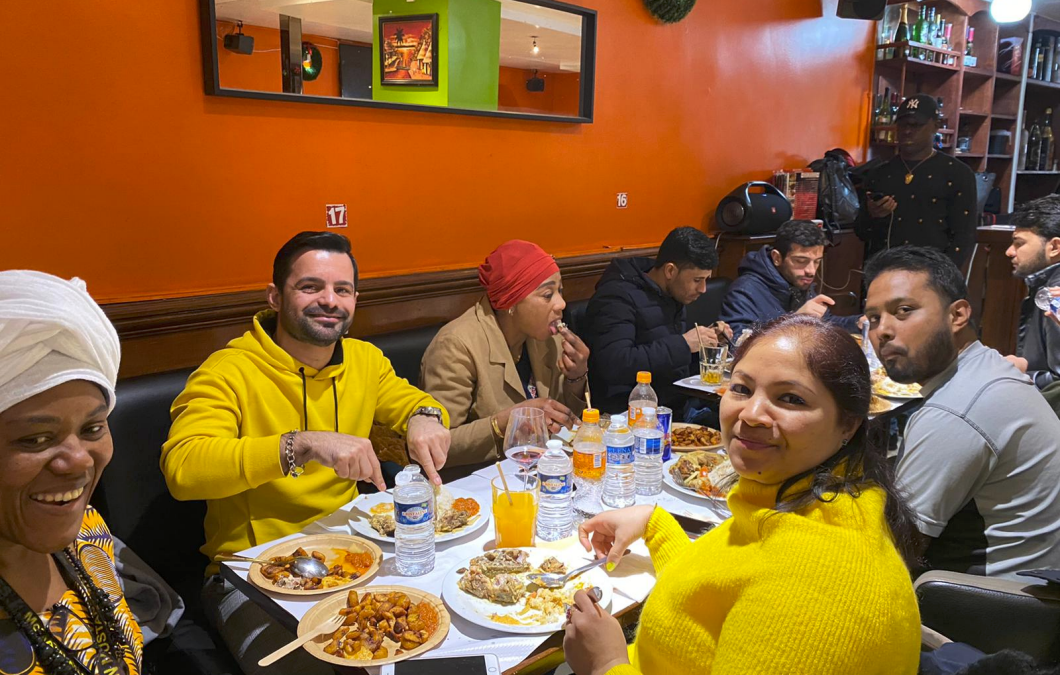 Repas annuel de l'association le 29 janvier 2020 au restaurant «Le 55 »